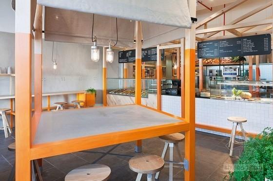 回归自然 狐狸小屋主题快餐厅设计