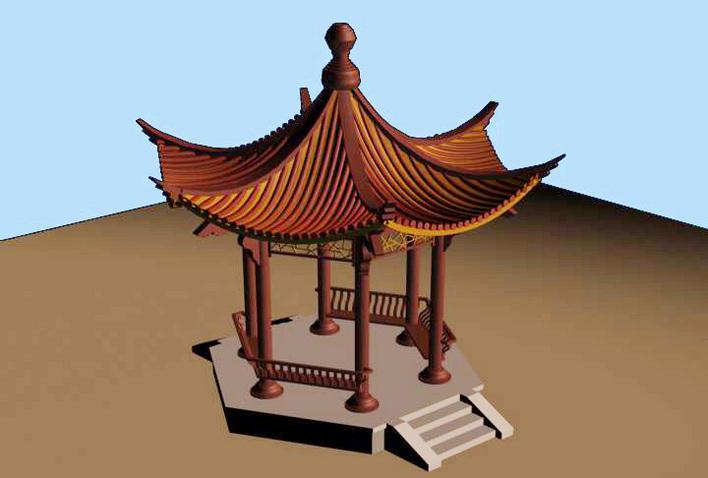 亭的分类可以依据材料分为哪几种不同的类型