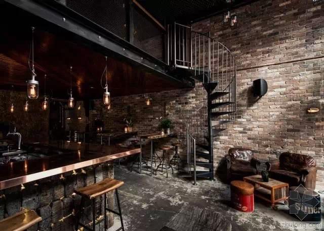 酒吧创意效果图设计:酒不醉人人自醉