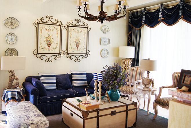 走进田园 感受地中海风格经典别墅装修设计
