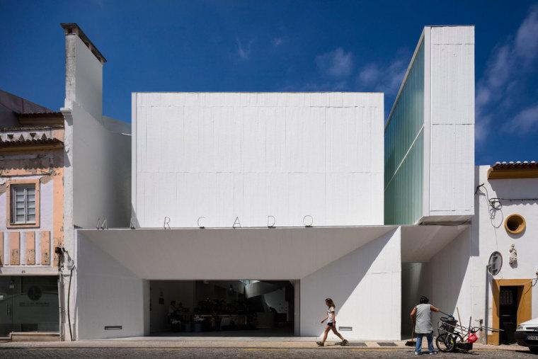 不是美术馆,不是别墅,这里是葡萄牙阿布兰特什市场