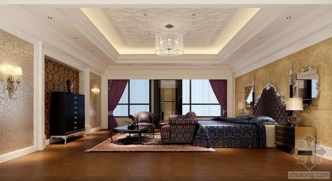 欧式风格卧室效果图分享
