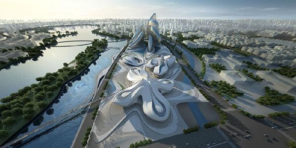 长沙梅溪湖国际文化艺术中心的成功,将带动国内GRC行业的发展