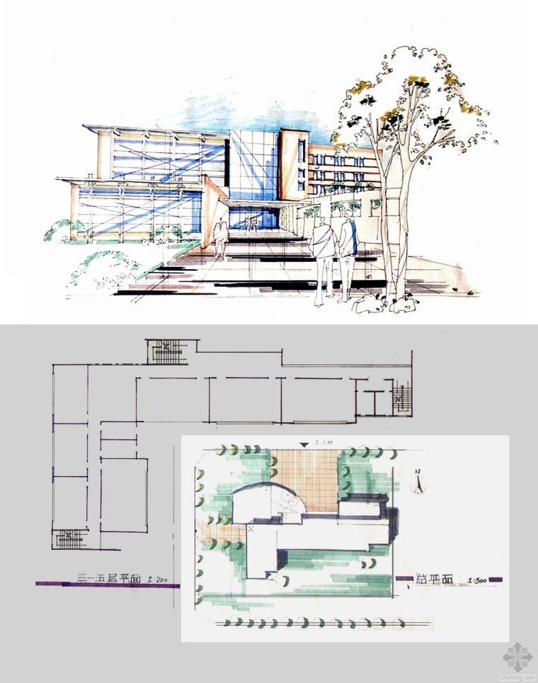 建筑快题设计技法与实例(图书)-节选3