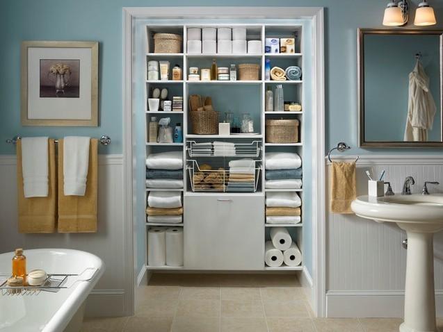 线条粗放型的室内设计与装修中怎么使得格子收纳看起来整洁