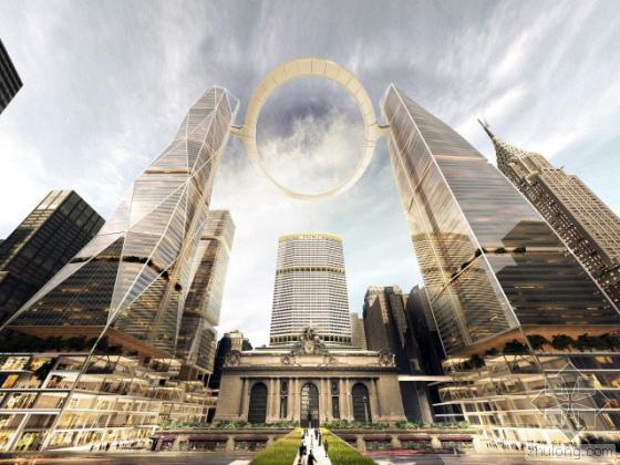 未来交通建筑设计方案(纽约为例)美图多多,你们懂的