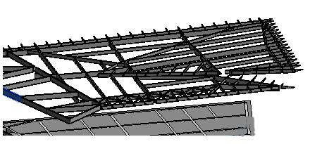 BIM软件小技巧(8):Revit绘制斜梁时如何定位的技巧