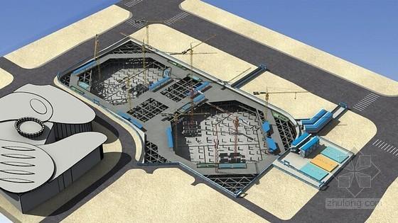 26米深基坑TRD工法加排桩加三道支撑施工方案附勘察报告及施工图