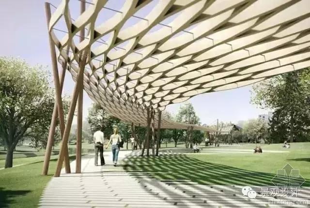 超实用 · 最具创意景观廊架