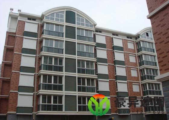 住宅外遮阳卷帘窗成为绿色建筑遮阳设计标准