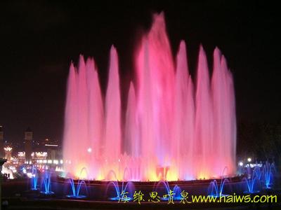 宿迁园博园音乐喷泉