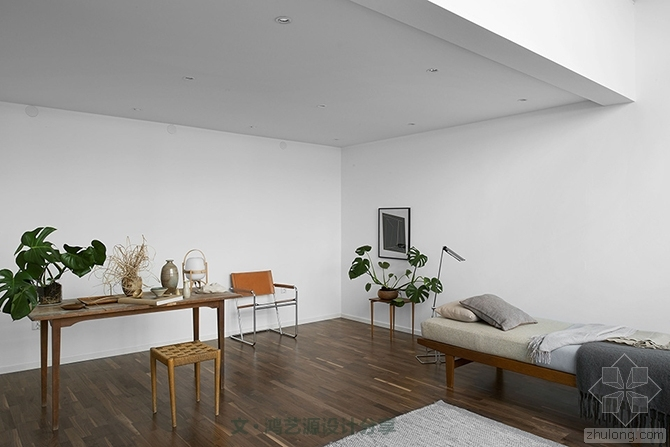 现代简约风格配上绿色室内设计