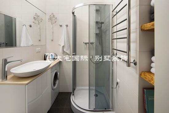 小别墅设计效果图之卫浴风格