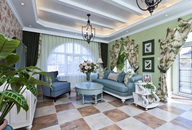 绿野仙踪融入自然的地中海别墅装修