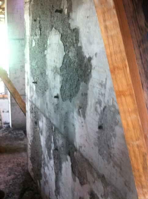 剪力墙拆模后表面混凝土脱落怎么回事?