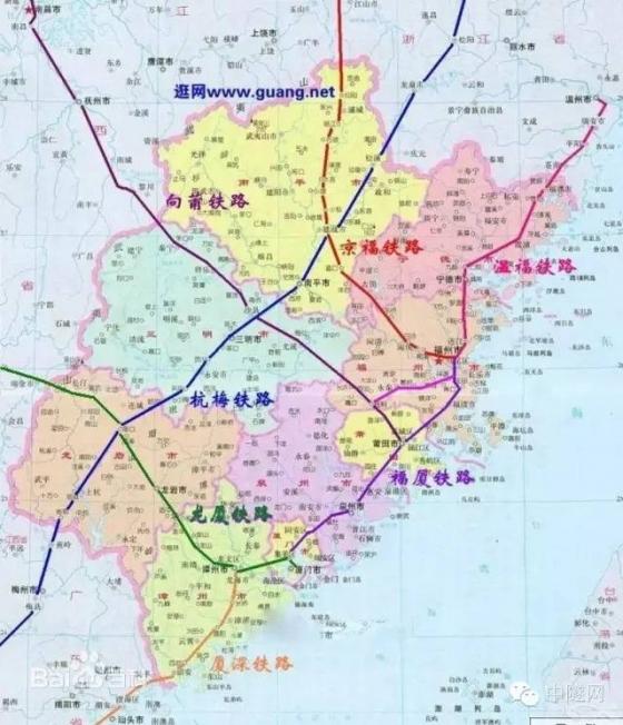 铁路大建设:盘点各省即将开工建设的线路_2