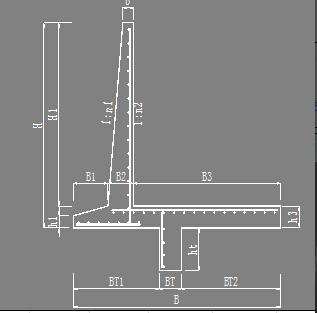 做过公路20米高的混凝土挡土墙的设计或施工,探讨一下