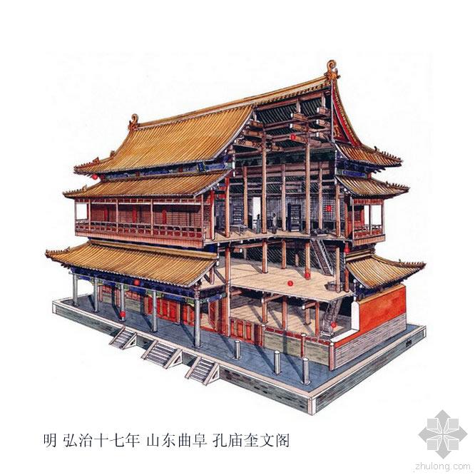[建筑设计]剖视中国经典古建筑,设计师必须收藏的(精品)