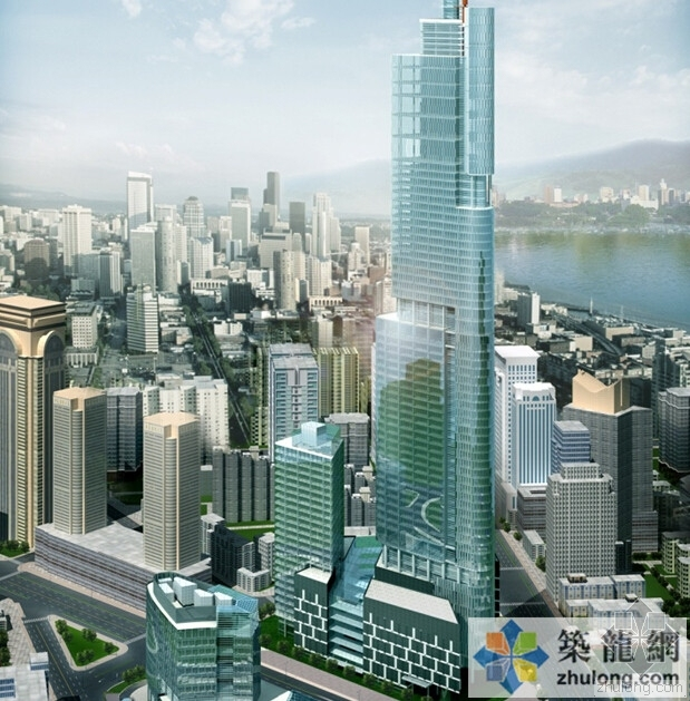 南京紫峰大厦施工关键技术,探秘超高层