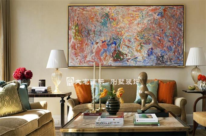 崇尚简约 高层美式风格别墅设计案例