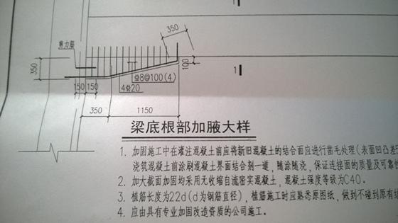 [答疑讨论5]梁后加腋加固、凿毛植筋怎么套定额?