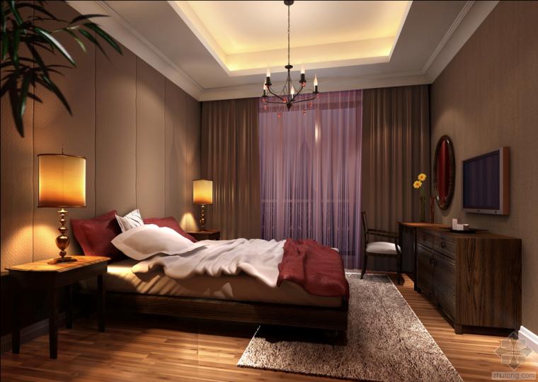 [免费分享]装修室内设计施工图带实景照和效果图153套