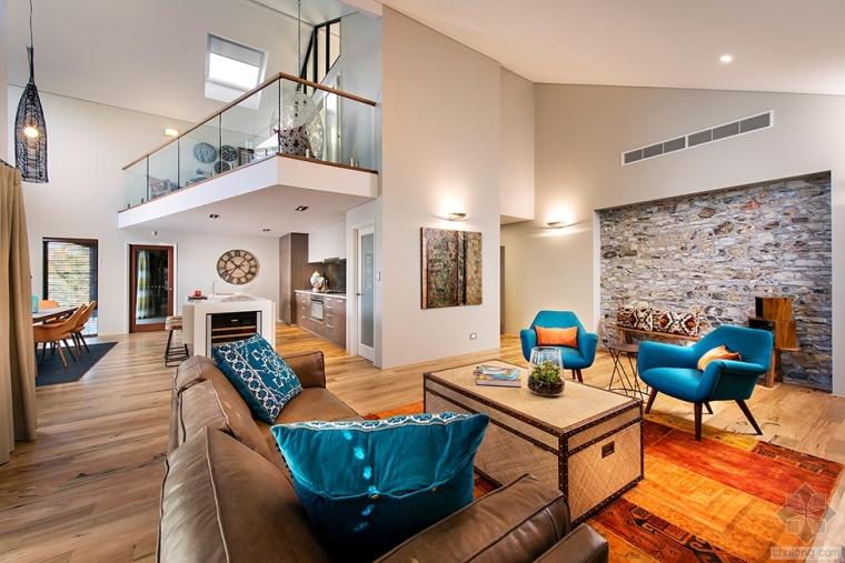 澳大利亚现代简约风格别墅室内设计