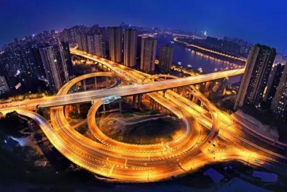 桥都重庆立交桥,妩媚了山城,惊艳了世界!