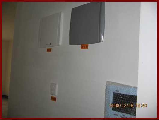 [龙湖]住宅楼清水房交房标准—室内照明部分