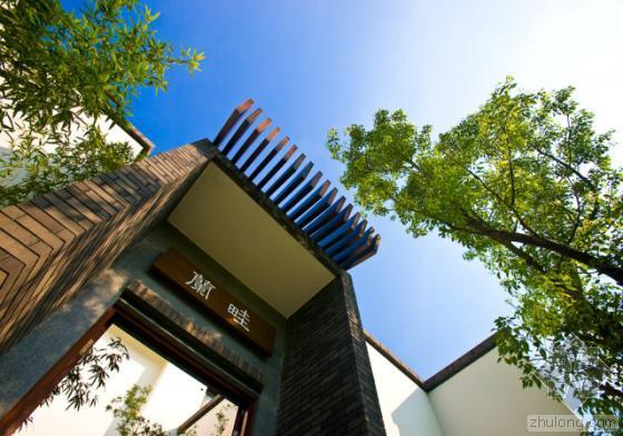 中国中山清华坊住宅区景观外部实-中国中山清华坊住宅区景观第5张图片