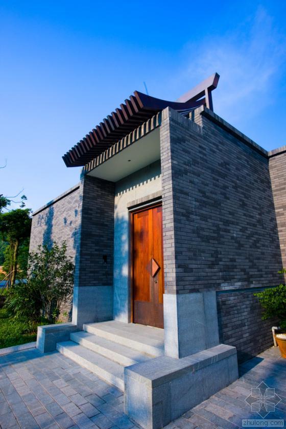 中国中山清华坊住宅区景观外部实-中国中山清华坊住宅区景观第4张图片