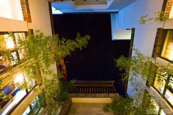 中国中山清华坊住宅区景观外部夜-中国中山清华坊住宅区景观第20张图片