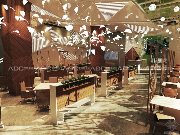 时尚中餐厅设计——津品外婆桥