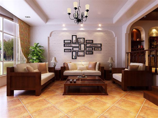 古铜色 满室雅韵的地中海风格别墅设计空间
