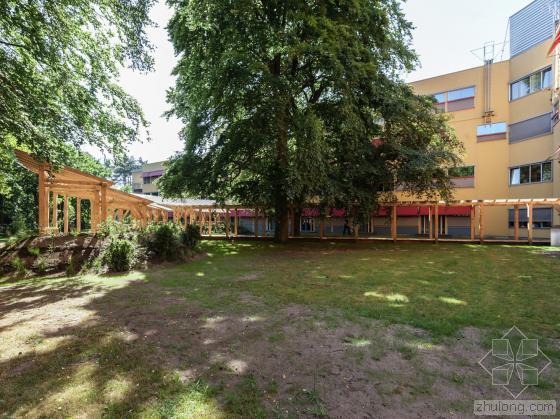 荷兰Tergooi医院疗养凉亭