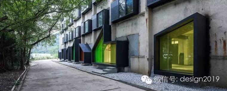 工人宿舍改造成色彩斑斓的青年旅社