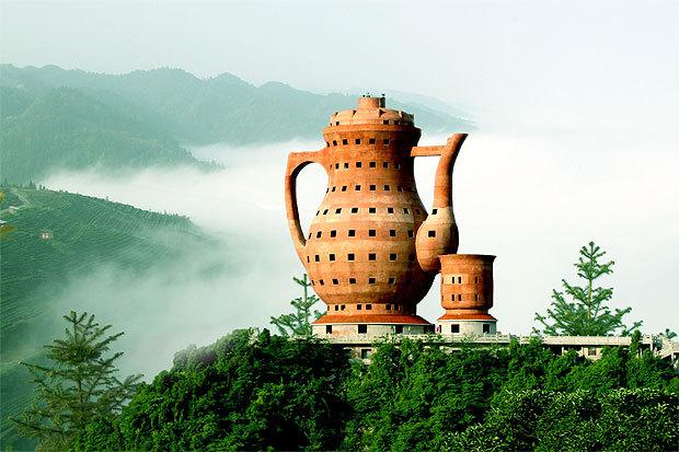贵州湄潭县茶文化陈列馆:茶壶
