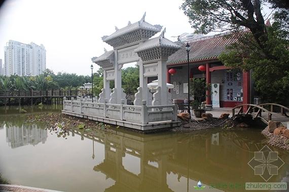 深圳园博园河道生态修复,构造原生态景观