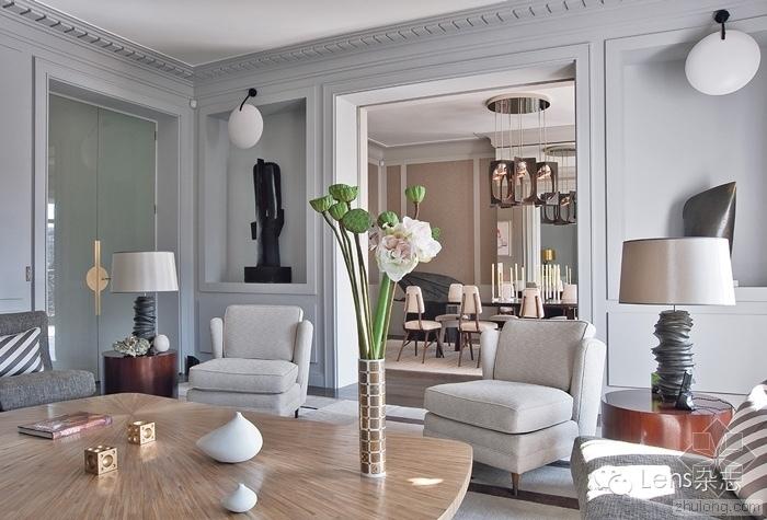 建筑师跨界做的16个室内设计(巴黎客厅)