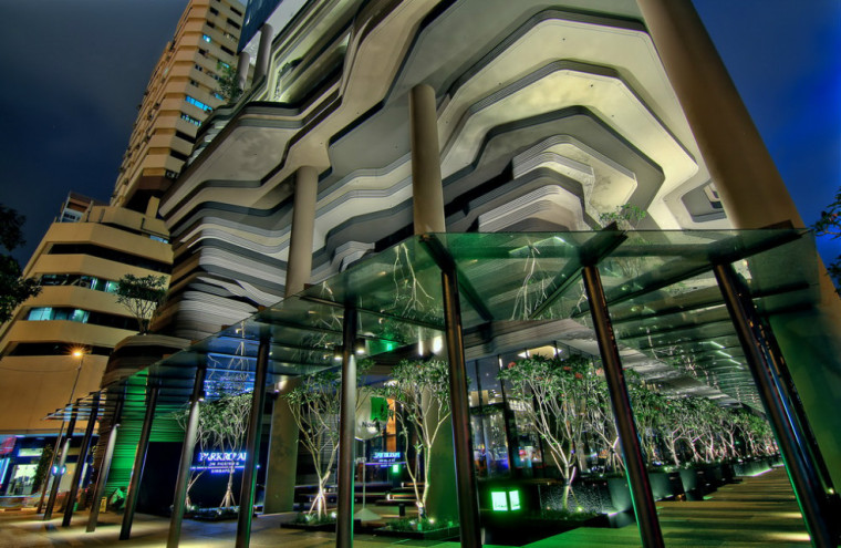 [景观设计]新加坡PARKROYAL on Pickering --WOHA设计