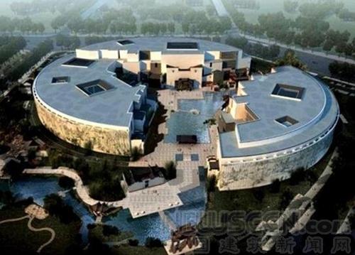 安徽城乡规划展示馆 造型独特