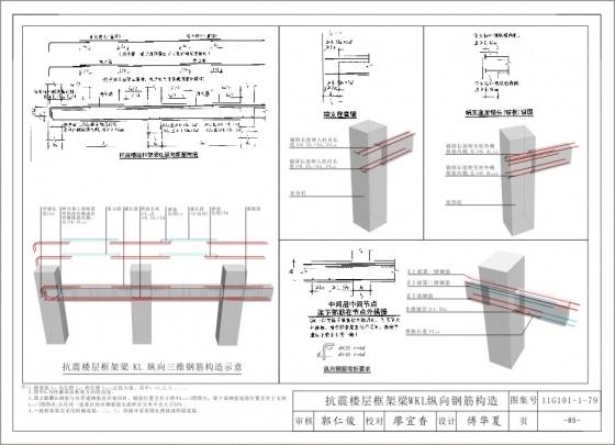 11G101三维平法钢筋结构识图图集以及视频教程-5
