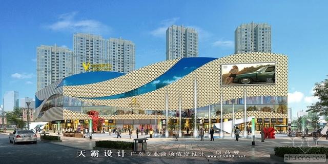 分享给河南城市综合体设计装修客户朋友参考的效果图