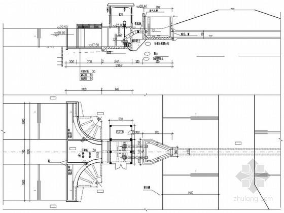 [江苏]泵站更新改造工程施工图(出水池 电机层)