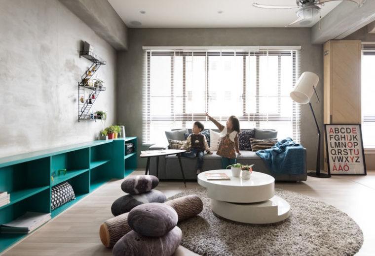 138平米的房子不算小,但给小朋友玩的地方怎么才能更大?