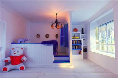 儿童房装修注意事项,蓝天豚硅藻泥几点建议