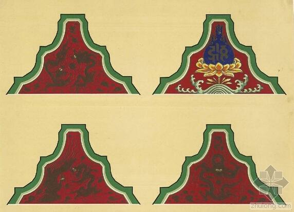 """大美不言之中式设计古建特有的装饰绘制工艺""""彩画"""""""
