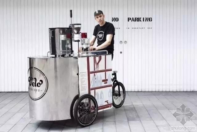 自行车发烧友最喜欢去的咖啡馆