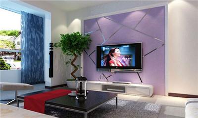 蓝天豚硅藻泥,电视背景墙的拯救者