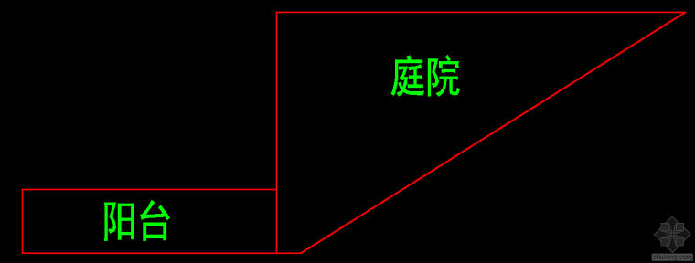 有大师帮忙提出个长三角形庭院景观设计思路吗?